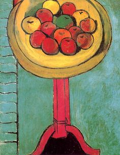 Henri Matisse  Apples on a Table  1916