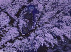 """『夜桜見物』北原 千 """"Night Flower"""" By Sen Kitahara, アクリル, art, acrylic"""