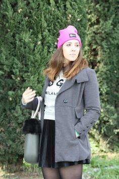 My new pink berets #maisenza  #angieclausblog #newpost #newoutfit #fashion #fashionblogger #streetstyle #sweater #felpe #MSGMMILANO #events #eggparty #revolution #villaariston #versilia #tuscany #italianfashionblogger #bloglovin #outfit #look #berets #pink #obag #fullspot #borsa #plissè #plissettata #lafatascalza #skirt http://angieclausblog.com/2015/01/26/eggparty-r-evolution-2015-e-il-mio-nuovo-berretto-maisenza/