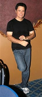 """Donny Osmond Rehearses for """"Beauty and The Beast"""" on Broadway"""