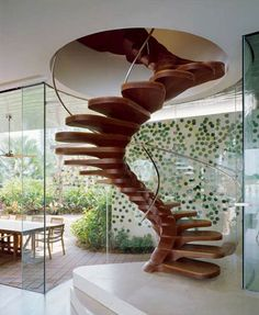 Spiral Staircases!  Beautiful but equally terrifying!