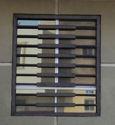 Herreria Moderna | Productos Balcony Railing Design, Window Grill Design, Burglar Bars, Window Design, Grill Gate Design, Steel Door Design, Grill Door Design, Front Door Design, Window Seat Design