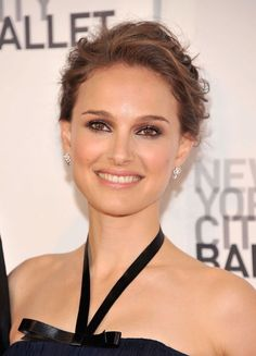 Bride makeup, smockey eyes, Natalie Portman