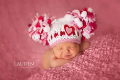 Hey, I found this really awesome Etsy listing at http://www.etsy.com/listing/120454493/baby-girl-hat-valentine-hat-newborn-baby