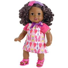 Little Mommy Sweet As Me African-American Doll ($47) ❤ liked on Polyvore featuring baby stuff and toys