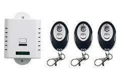 >> Click to Buy << AC85V 110V 120V 220V 250V 1CH RF Wireless Remote Control Switch System 1*Receiver +3*ellipse shape Transmitters Learning code #Affiliate