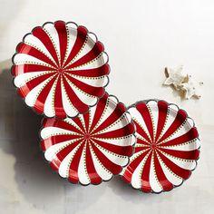 Peppermint Paper Dessert Plates | Pier 1 Imports