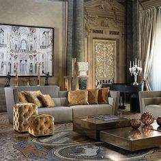 779 отметок «Нравится», 9 комментариев — CruiserLars (@cruiserlars) в Instagram: «Glam Italian palazio. #glam#palace #instahome #instastyle #instadecor#archilovers #architecture…»