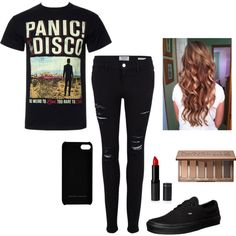 "Panic At The Disco Concert"" by emily24-i ❤ liked on Polyvore ..."