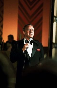 "Frank Sinatra performs on ""Sinatra and Friends"" television special 1977 ABC"