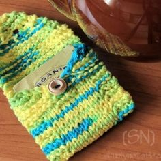 Tea Toters Free Knitting Pattern