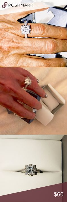 This. Anna K is a size 5 This beautiful Bella Lucci Vanna K size five ring is set in layers of platinum over silver so it is durable and won't tarnish.  A wonderful gift for that special someone! Vanna K Jewelry Rings