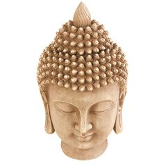Kelkay Stonetouch Buddha Head Decorative Accent