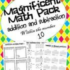 This unit contains everything you need to practice and reinforce addition and subtraction up to the number 10!