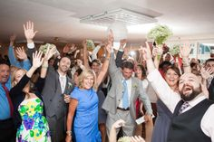 Get a shot of all your guests on the dance floor. Caitlyn and Rob's Hilarious, Emotional, and Craft-Filled Wedding at the Bournedale Function Facility in Plymouth » Fucci's Photos of Boston ...