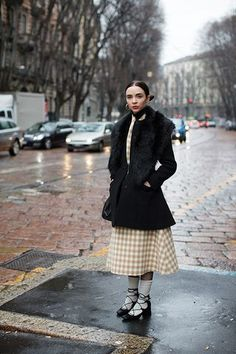 The Three Coolest Ladies at Louis Vuitton, Paris | The Sartorialist | Bloglovin'