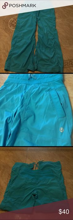 Lululemon Size 2 Pre loved gently used  good condition Reasonable offers welcome lululemon athletica Pants
