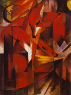 Franz Marc - The Fox