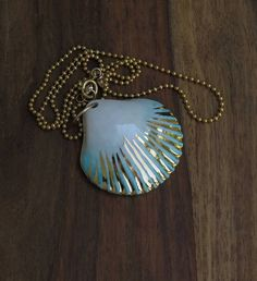 porcelain jewelry Scallop shell Shell of Saint James Camino