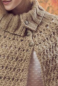 Naisen virkattu ja neulottu keeppi Novita Hile   Novita knits
