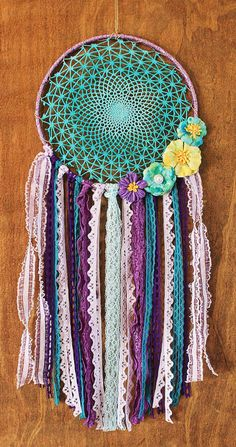A personal favorite from my Etsy shop https://www.etsy.com/listing/386157306/dreamcatcher-one-of-a-kind-large-10-hoop