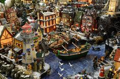 Christmas Village Displays - Bing Images