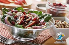 Cranberry Pear Salad | 1 Guiding Star