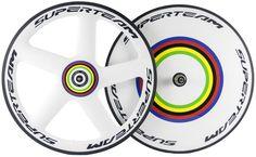 Superteam 56mm Five Spoke Front Wheels Dics Rear Wheels Road Bike Dics Wheelset #OEM
