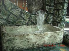 Navidad 2012. Fuente de agua para el nacimiento.