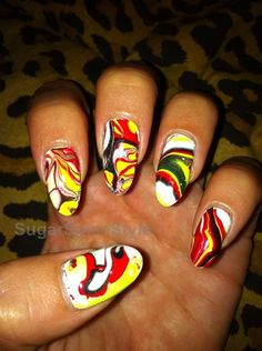 Dragon Fire - Nail Art Gallery by NAILS Magazine