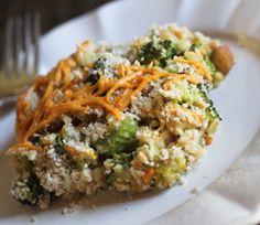 Mom's Broccoli and Brown Rice Casserole!