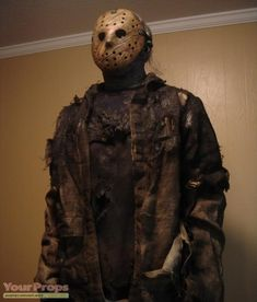 Image result for jason vs freddy prop clothes Jason Voorhees, Horror, Leather Jacket, Studded Leather Jacket, Rocky Horror, Leather Jackets, Leather Blazer