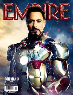 Iron man movie collection | Empire's Iron Man 3 Cover | my movie collection