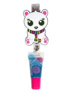 HOLIDAY CRITTER YOYO LIP GLOSS | GIRLS LIP GLOSS BEAUTY | SHOP JUSTICE