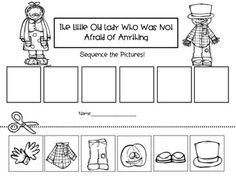 The Little Old Lady Who Was Not Afraid of Anything! Bundle of Literacy Fall Preschool, Preschool Classroom, Classroom Activities, Preschool Ideas, Teaching Ideas, Kindergarten Anchor Charts, Kindergarten Language Arts, Kindergarten Activities, Speech Therapy Activities