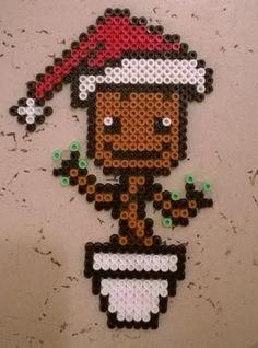 Articles similaires à Normal ou saisonnières Groot Bead Spr Easy Perler Bead Patterns, Pearler Bead Patterns, Diy Perler Beads, Perler Bead Art, Pearler Beads, Pixel Art Noel, Christmas Perler Beads, Motifs Perler, Beaded Banners