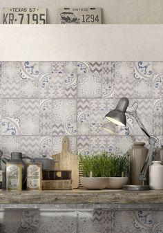 #Pottery | #ceramics | #walltiles | #Marazzi | #kitchen | #