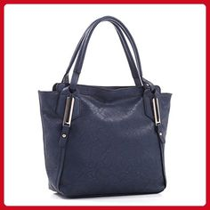 Concealed Carry Gun Purse - Cherokee Tote by Emperia Outfitters (Navy) -  Shoulder bags 252769bb5f3d5