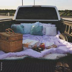 Truck Picnics Summer Car Dates Movie Bed Date Picnic