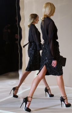 Black outfit, very elegant Looks Chic, Looks Style, Style Me, Looks Total Black, Costume, Fashion Beauty, Womens Fashion, Mode Inspiration, Dress Me Up