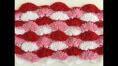 Crochet pattern - long loop shell crochet stitch