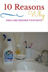 10 Reasons Girls are messier than boys.do you agree? Parenting Advice, Tween, Good To Know, Giveaways, Barbie, Posts, Future, Girls, Blog