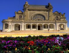 Art Nouveau Architecture, Commercial Architecture, Abandoned Buildings, Beautiful Homes, Places To Visit, Mansions, World, Constanta Romania, Lord Jagannath