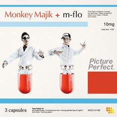 Monkey Majik + m-flo - Picture Perfect