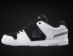 Fox Motion- Eclipse Shoe - White/Black/Grey
