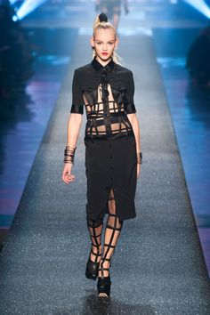 Jean Paul Gaultier does the most at times but I love it