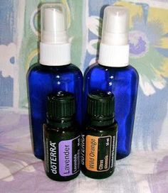 Sweet Dreams Bedtime Spray- 5 drops lavender, 5 drops wild orange, 3 drops chamomile (optional) 4 ounces of water