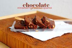 Suklaa-mansikkaproteiinineliöt