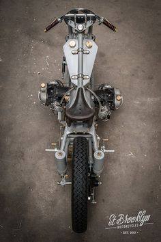 "BMW Bobber ""LEtonnante"" by St-Brooklyn Motorcycles #motorcycles #bobber #motos 