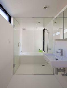 Salle de bain Espace combiné pour la douche et le bain